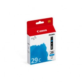 Brand New Original CANON PGI-29C Inkjet Cartridge Cyan