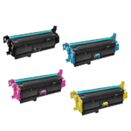 HP 508X Laser Toner Cartridge Set Black Cyan Yellow Magenta High Yield Set