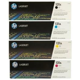 Brand New Original HP 131X Laser Toner Cartridge Set Black Cyan Yellow Magenta High Yield