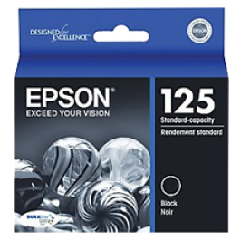 ~Brand New Original Epson T125120 INK / INKJET Cartridge Black