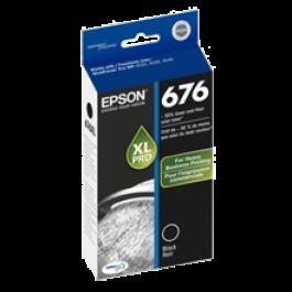 ~Brand New Original EPSON T676XL120 676XL High Yield INK / INKJET Cartridge Black