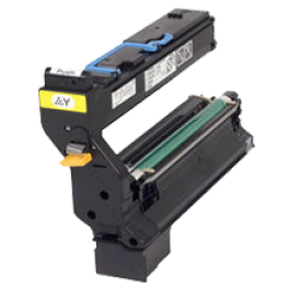 ~Brand New Original Konica Minolta 1710580-002 Laser Toner Cartridge Yellow