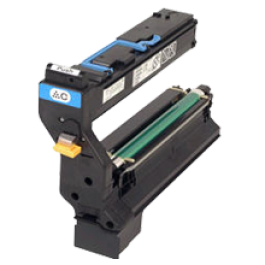 ~Brand New Original Konica Minolta 1710580-004 Laser Toner Cartridge Cyan