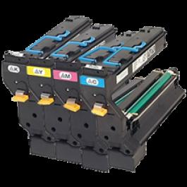 ~Brand New Original Konica Minolta 5430DL / 5440DL / 5450 Laser Toner Cartridge Set Black Cyan Yellow Magenta