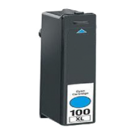 LEXMARK 14N1069 100XL High Yield INK / INKJET Cartridge Cyan