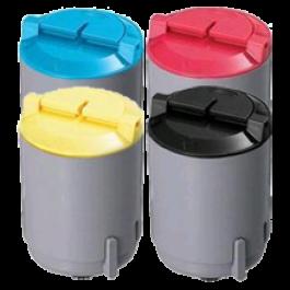 SAMSUNG CLP-350 Laser Toner Cartridge Set Black Cyan Yellow Magenta