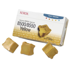 ~Brand New Original Xerox 108R00671 SOLID Ink Sticks (3-PACK) Yellow