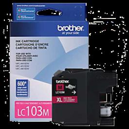~Brand New Original BROTHER LC103M INK / INKJET Cartridge Magenta High Yield
