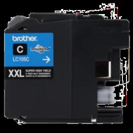 Brand New Original BROTHER LC105C (XXL) INK / INKJET Cartridge Super High Yield Cyan