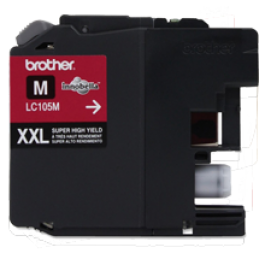 ~Brand New Original BROTHER LC105M (XXL) INK / INKJET Cartridge Super High Yield Magenta