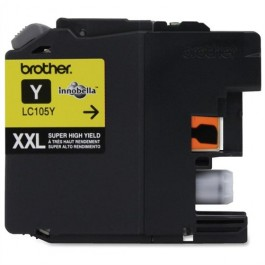 ~Brand New Original BROTHER LC105Y (XXL) INK / INKJET Cartridge Super High Yield Yellow