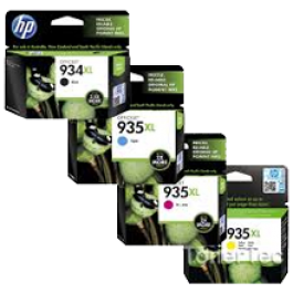 ~Brand New Original HP 934XL / 935XL INK / INKJET Cartridge High Yield Set Black Yellow Cyan Magenta