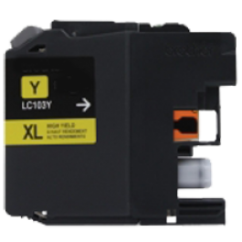 Brand New Compatible BROTHER LC103Y INK / INKJET Cartridge Yellow