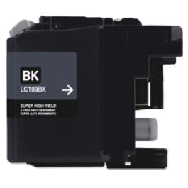 BROTHER INK LC109BKS INK / INKJET Super High Yield Black