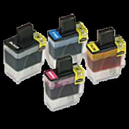 Brother LC41 Ink Cartridge Set Black Cyan Yellow Magenta