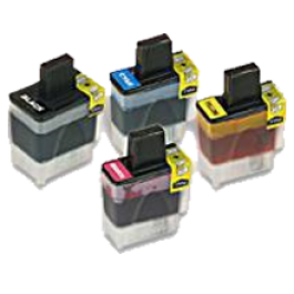 Brand New Original Brother LC41 Ink Cartridge Set Black Cyan Yellow Magenta