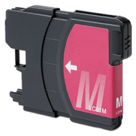 Brother LC61M Ink Cartridge Magenta