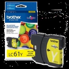 ~Brand New Original BROTHER LC61Y INK / INKJET Cartridge Yellow