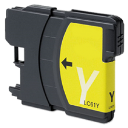 Brother LC61Y Ink Cartridge Yellow