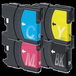 Brand New Original Brother LC65 Ink Cartridge Set Black Cyan Yellow Magenta