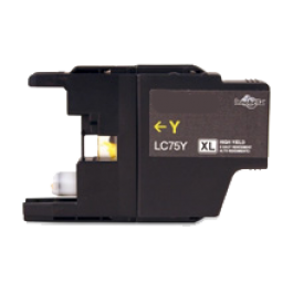 Brother LC75YS High Yield Ink Cartridge Yellow
