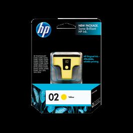 Brand New Original HP C8773WN (02) INK / INKJET Cartridge Yellow