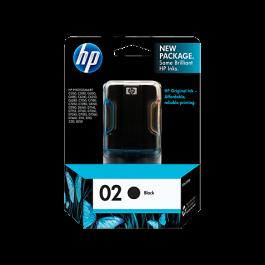 Brand New Original HP C8721WN (02) INK / INKJET Cartridge Black
