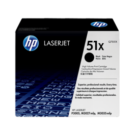 ~Brand New Original HP Q7551X HP51X Laser Toner Cartridge High Yield