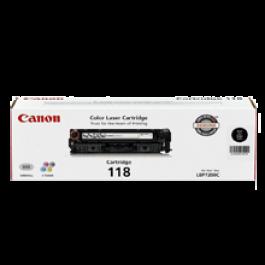 ~Brand New Original CANON 2662B001AA CRG-118BK Laser Toner Cartridge Black