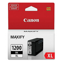 ~Brand New Original CANON 9183B001 (PGI-1200XL) INK / INKJET Cartridge High Yield Black