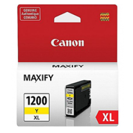 ~Brand New Original CANON 9198B001 (PGI-1200XL) INK / INKJET Cartridge High Yield Yellow
