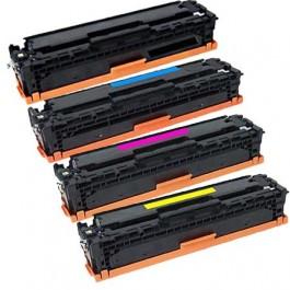HP CF410X Laser Toner Cartridge High Yield Set Black Cyan Yellow Magenta High Yield