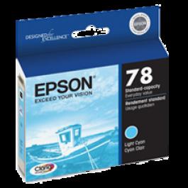 ~Brand New Original EPSON T078520 INK / INKJET Cartridge Light Cyan