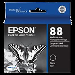 ~Brand New Original EPSON T088120 INK / INKJET Cartridge Black
