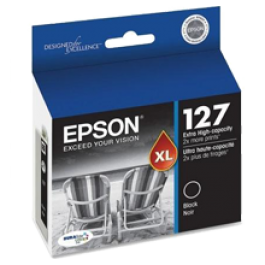 ~Brand New Original EPSON T127120 Extra High Yield INK / INKJET Cartridge Black