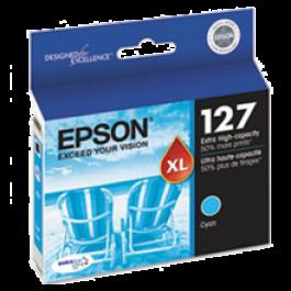 ~Brand New Original EPSON T127220 Extra High Yield INK / INKJET Cartridge Cyan