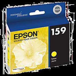 Brand New Original EPSON T159420 INK / INKJET Cartridge High Yield Ultra Chrome High Gloss Yellow