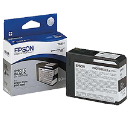 ~Brand New Original EPSON T580100 INK / INKJET Cartridge Photo Black