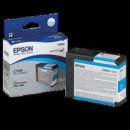 ~Brand New Original EPSON T580200 INK / INKJET Cartridge Cyan
