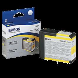 ~Brand New Original EPSON T580400 INK / INKJET Cartridge Yellow