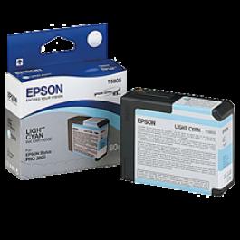 ~Brand New Original EPSON T580500 INK / INKJET Cartridge Light Cyan