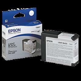 Brand New Original EPSON T580700 INK / INKJET Cartridge Light Black