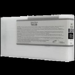 Brand New Original EPSON T653800 INK / INKJET Cartridge Matte Black