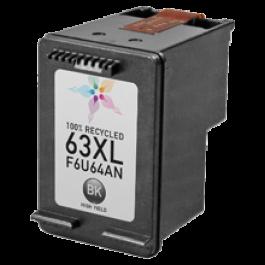 HP F6U64AN (HP 63XL) High Yield INK / INKJET Cartridge Black