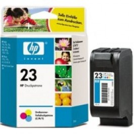 Brand New Original HP C1823 (23A) INK / INKJET Cartridge Tri-Color