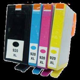 HP 920XL INK / INKJET Set Black Cyan Yellow Magenta