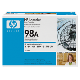 Brand New Original HP 92298A HP98A Laser Toner Cartridge