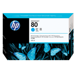 ~Brand New Original HP C4872A (HP 80) INK / INKJET Cyan