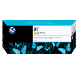 ~Brand New Original HP C4933A (81) INK / INKJET Cartridge Yellow