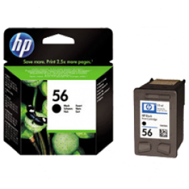 ~Brand New Original HP C6656A (56) INK / INKJET Cartridge Black
